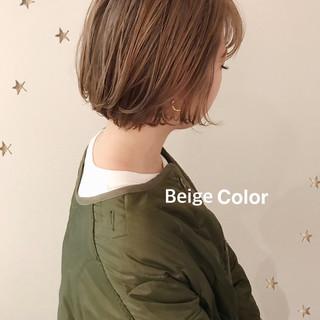 ハイトーンボブ ストリート ボブ ハイトーンカラー ヘアスタイルや髪型の写真・画像