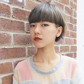 ショート ボブ 色気 外国人風 ヘアスタイルや髪型の写真・画像