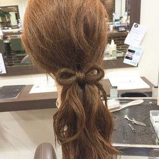ハーフアップ 簡単ヘアアレンジ 大人かわいい ゆるふわ ヘアスタイルや髪型の写真・画像 ヘアスタイルや髪型の写真・画像