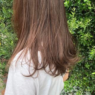 ブリーチ ハイライト 大人ハイライト ナチュラル ヘアスタイルや髪型の写真・画像