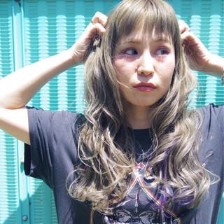 ストリート リラックス アッシュ オン眉 ヘアスタイルや髪型の写真・画像
