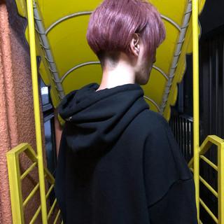 ブリーチカラー メンズカラー メンズスタイル モード ヘアスタイルや髪型の写真・画像