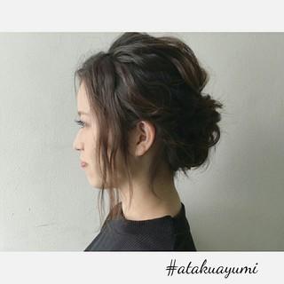 上品 エレガント 結婚式 女子会 ヘアスタイルや髪型の写真・画像 ヘアスタイルや髪型の写真・画像
