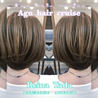 ショートボブ ショート 上品 ナチュラル ヘアスタイルや髪型の写真・画像 ヘアスタイルや髪型の写真・画像