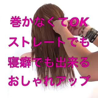 涼しげ 夏 フェミニン ロング ヘアスタイルや髪型の写真・画像