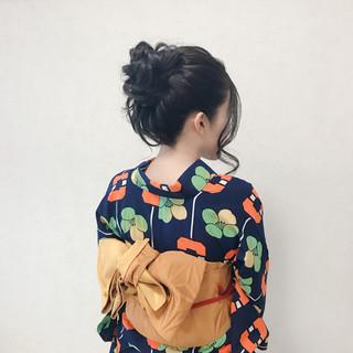 デート 涼しげ フェミニン ヘアアレンジ ヘアスタイルや髪型の写真・画像
