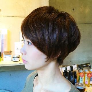 ショート マッシュショート ショートマッシュ マッシュ ヘアスタイルや髪型の写真・画像