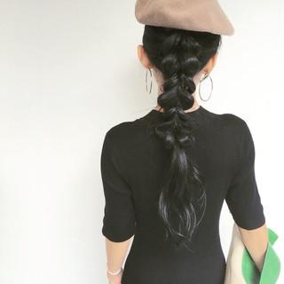 波ウェーブ ウェーブ 簡単ヘアアレンジ ヘアアレンジ ヘアスタイルや髪型の写真・画像