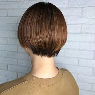小顔ショート 大人かわいい ショート ショートヘア ヘアスタイルや髪型の写真・画像