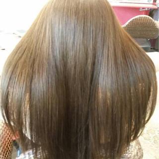 コンサバ 夏 トリートメント 涼しげ ヘアスタイルや髪型の写真・画像 ヘアスタイルや髪型の写真・画像