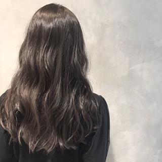 セミロング パーマ ヘアアレンジ ナチュラル ヘアスタイルや髪型の写真・画像