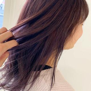 ヘアカラー インナーカラー ヘアアレンジ 巻き髪 ヘアスタイルや髪型の写真・画像