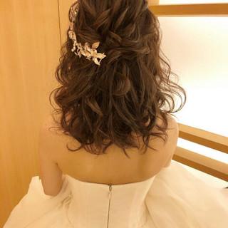 おしゃれさんと繋がりたい ヘアアレンジ 結婚式ヘアアレンジ 大人かわいい ヘアスタイルや髪型の写真・画像