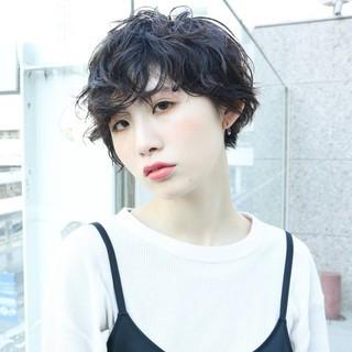 阿藤俊也 ショート PEEK-A-BOO ハンサムショート ヘアスタイルや髪型の写真・画像