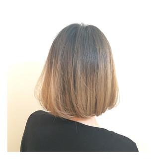 ハイトーン ボブ ストリート 外国人風 ヘアスタイルや髪型の写真・画像