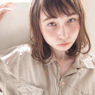 くせ毛風 外国人風 大人かわいい ゆるふわ ヘアスタイルや髪型の写真・画像