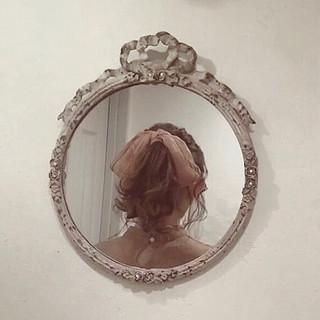 ヘアアレンジ ガーリー ポニーテール ゆるふわ ヘアスタイルや髪型の写真・画像