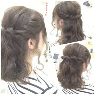 波ウェーブ モテ髪 コンサバ 愛され ヘアスタイルや髪型の写真・画像