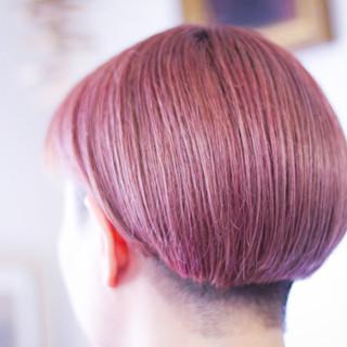 ピンクラベンダー ベリーピンク ナチュラル ラベンダーピンク ヘアスタイルや髪型の写真・画像