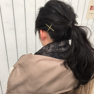 ショート アッシュ グラデーションカラー ロング ヘアスタイルや髪型の写真・画像