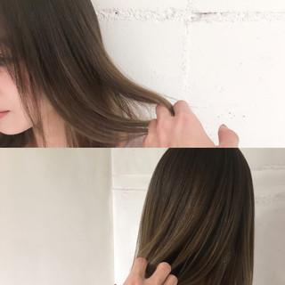 ニュアンス ナチュラル グラデーションカラー ハイライト ヘアスタイルや髪型の写真・画像 ヘアスタイルや髪型の写真・画像