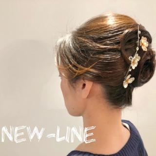 結婚式 ヘアアレンジ 成人式 大人かわいい ヘアスタイルや髪型の写真・画像