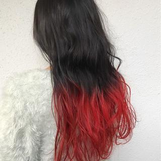 ロング 外国人風カラー ブリーチ ダブルカラー ヘアスタイルや髪型の写真・画像