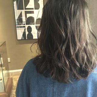 アッシュ イルミナカラー ブルージュ ガーリー ヘアスタイルや髪型の写真・画像 ヘアスタイルや髪型の写真・画像
