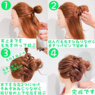 簡単ヘアアレンジ スポーツ デート フェミニン ヘアスタイルや髪型の写真・画像 ヘアスタイルや髪型の写真・画像