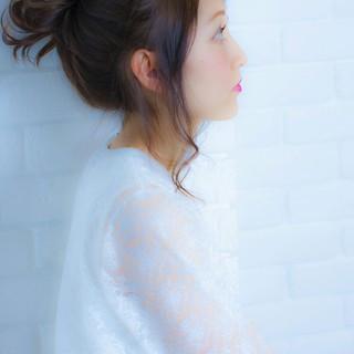 ミディアム 大人かわいい 外国人風 ショート ヘアスタイルや髪型の写真・画像