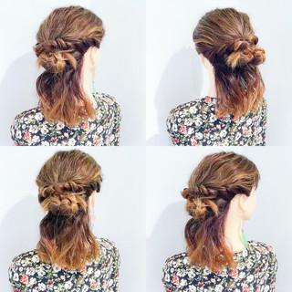 フェミニン 涼しげ 夏 色気 ヘアスタイルや髪型の写真・画像
