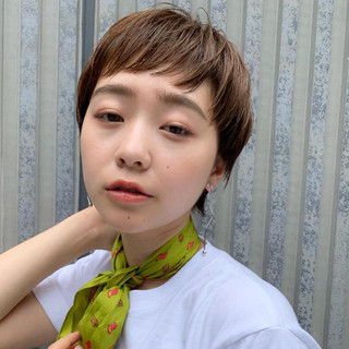 PEEK-A-BOO ショート マッシュショート 阿藤俊也 ヘアスタイルや髪型の写真・画像