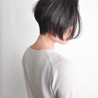 ショートボブ ボブ ショート ナチュラル ヘアスタイルや髪型の写真・画像 ヘアスタイルや髪型の写真・画像