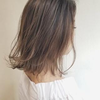 大人女子 大人かわいい ボブ ナチュラル ヘアスタイルや髪型の写真・画像