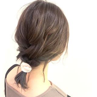 ヘアアレンジ 三つ編み デート 簡単ヘアアレンジ ヘアスタイルや髪型の写真・画像 | Kaoru_ishiga / RadiaL HAIR DESIGN
