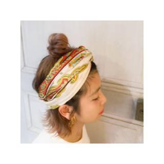 外国人風 パーティ ボブ ヘアアレンジ ヘアスタイルや髪型の写真・画像