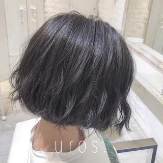 ナチュラル 黒髪 ショート ヘアスタイルや髪型の写真・画像 ヘアスタイルや髪型の写真・画像