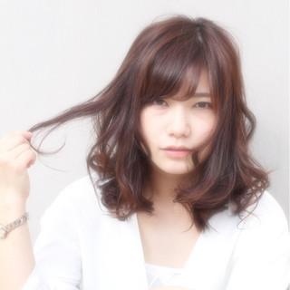 フェミニン ナチュラル ゆるふわ 大人かわいい ヘアスタイルや髪型の写真・画像