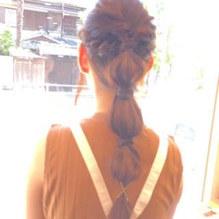 ハーフアップ ゆるふわ ロング ヘアアレンジ ヘアスタイルや髪型の写真・画像