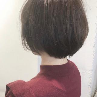 ショートボブ ミニボブ マッシュショート ショート ヘアスタイルや髪型の写真・画像