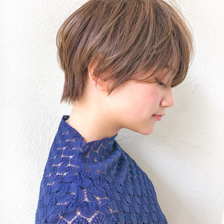 ナチュラル 似合わせ 透明感 色気 ヘアスタイルや髪型の写真・画像