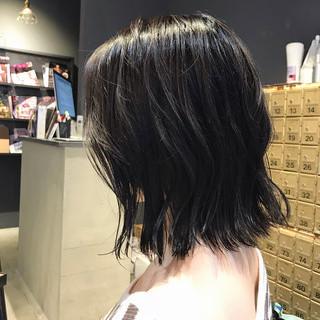 ミディアム 大人ミディアム 透明感カラー ナチュラル ヘアスタイルや髪型の写真・画像