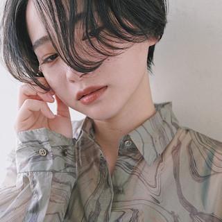 ナチュラル ショート ショートヘア ショートボブ ヘアスタイルや髪型の写真・画像