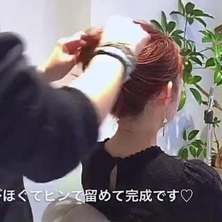 ヘアアレンジ 簡単ヘアアレンジ 大人女子 ナチュラル ヘアスタイルや髪型の写真・画像 ヘアスタイルや髪型の写真・画像