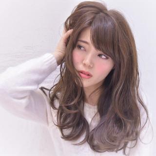 ナチュラル 小顔 ニュアンス 大人女子 ヘアスタイルや髪型の写真・画像