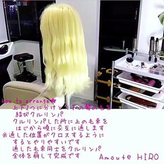 簡単 ショート まとめ髪 エレガント ヘアスタイルや髪型の写真・画像
