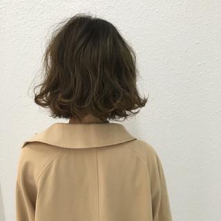 ストリート グラデーションカラー ボブ ニュアンス ヘアスタイルや髪型の写真・画像