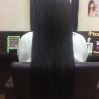 ストレート 黒髪 ロング 大人女子 ヘアスタイルや髪型の写真・画像