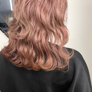 ロング フェミニン モテ髪 デート ヘアスタイルや髪型の写真・画像