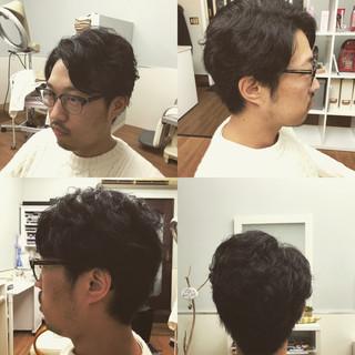 ショート メンズ 小顔 ストリート ヘアスタイルや髪型の写真・画像